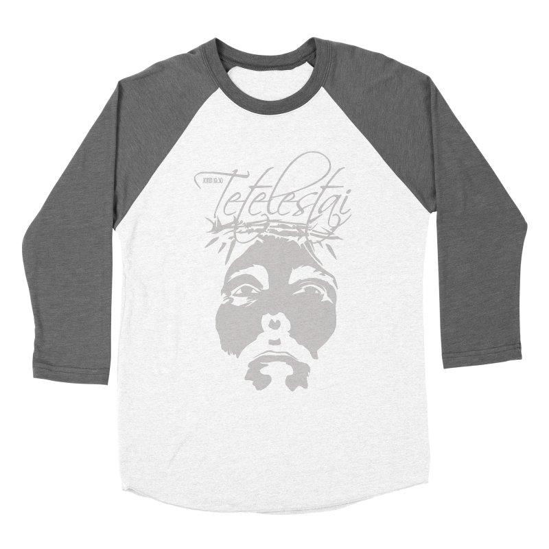 Tetelestai Women's Longsleeve T-Shirt by Stand Forgiven ✝ Bible-inspired designer brand