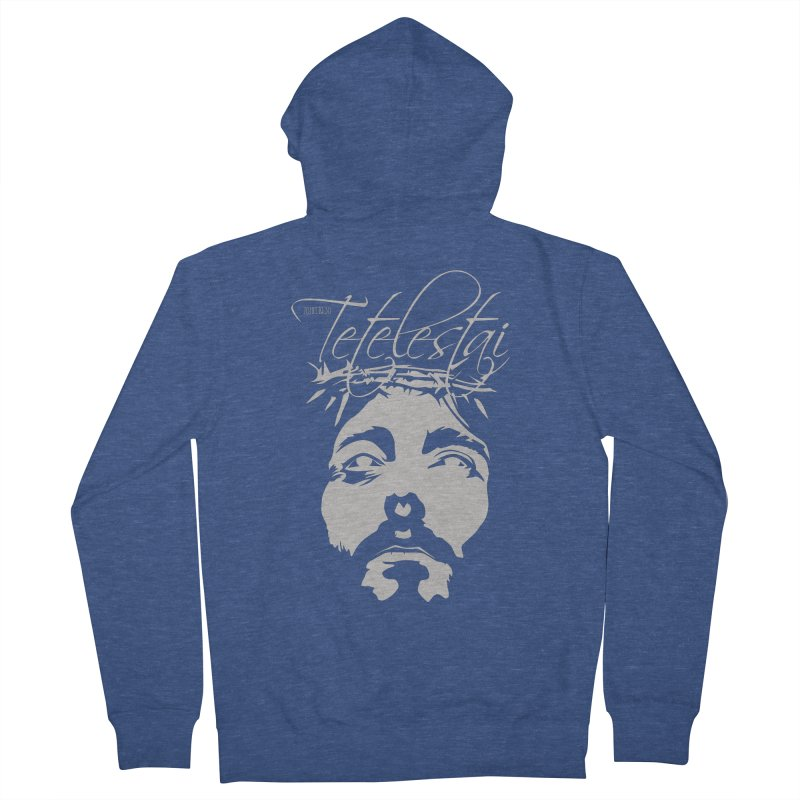 Tetelestai Men's Zip-Up Hoody by Stand Forgiven ✝ Bible-inspired designer brand