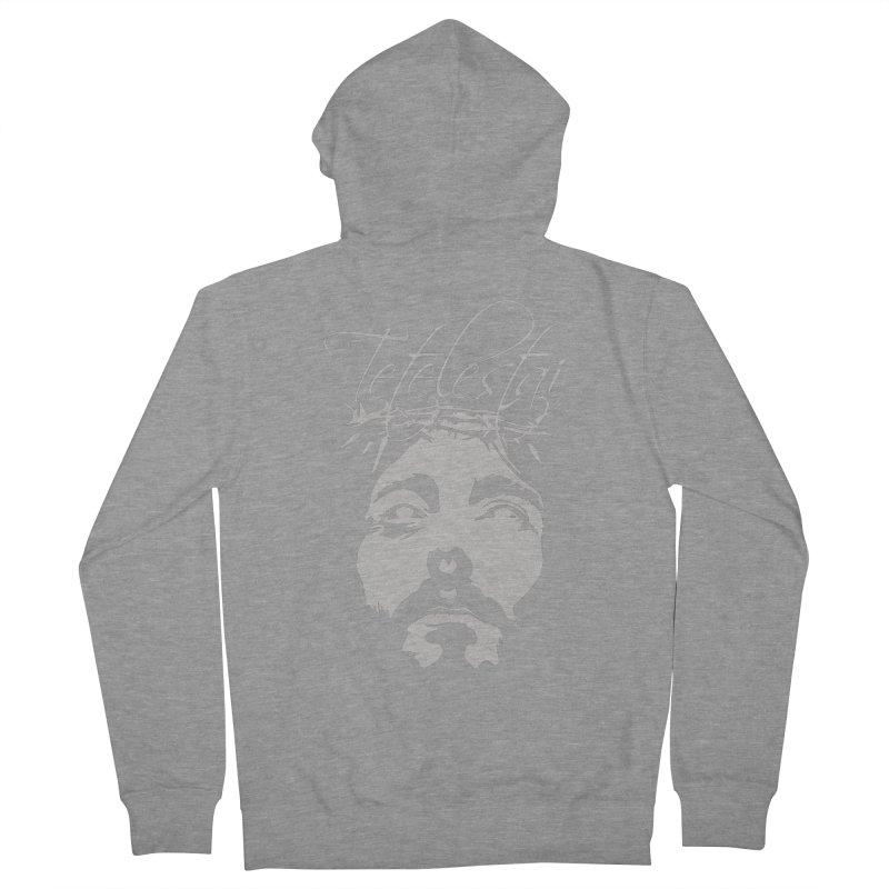 Tetelestai Men's French Terry Zip-Up Hoody by Stand Forgiven ✝ Bible-inspired designer brand