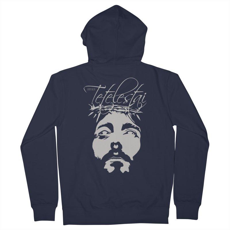 Tetelestai Men's Zip-Up Hoody by Stand Forgiven ✝ Bible-inspired designer brand