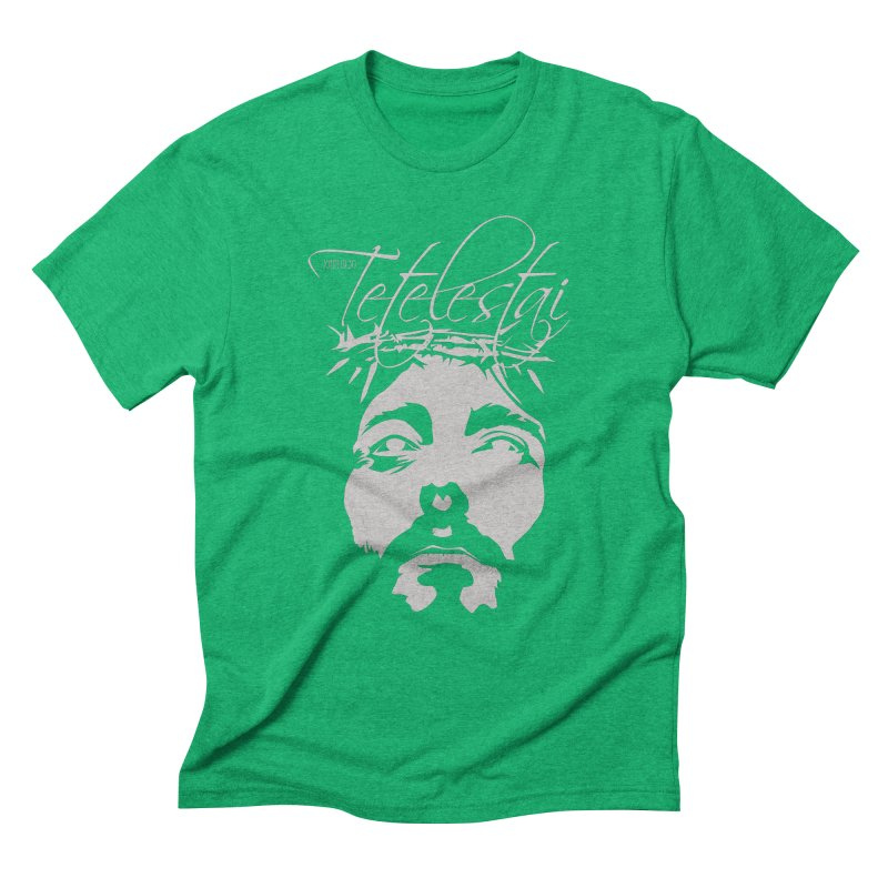 Tetelestai Men's Triblend T-Shirt by Stand Forgiven ✝ Bible-inspired designer brand