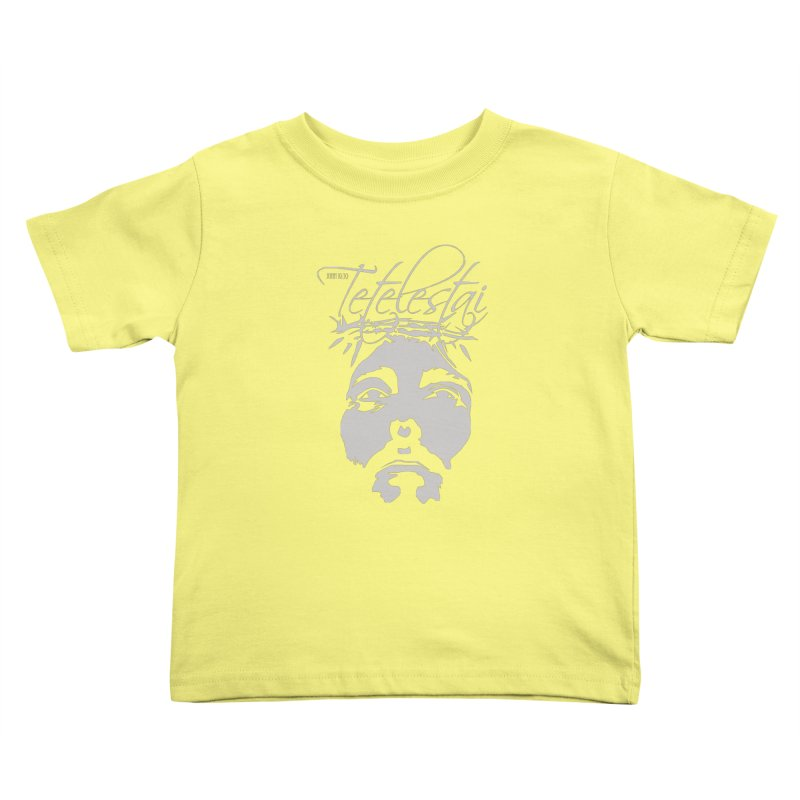 Tetelestai Kids Toddler T-Shirt by Stand Forgiven ✝ Bible-inspired designer brand