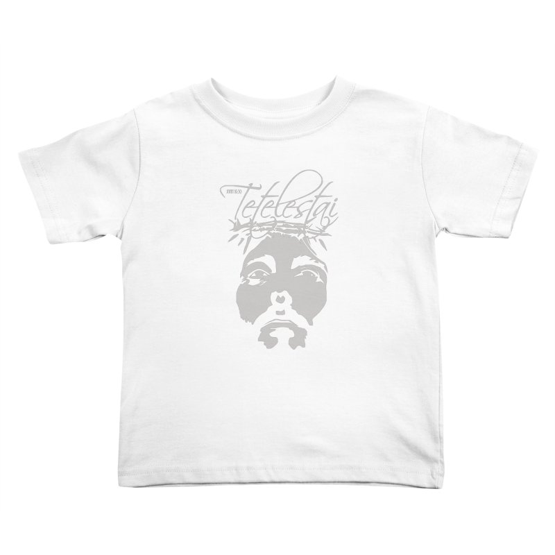 Tetelestai Kids Toddler T-Shirt by Stand Forgiven ✝ Bible-inspired designer brand