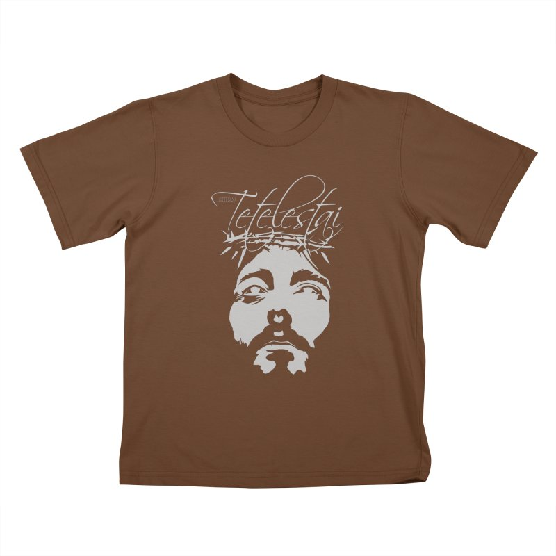 Tetelestai Kids T-Shirt by Stand Forgiven ✝ Bible-inspired designer brand