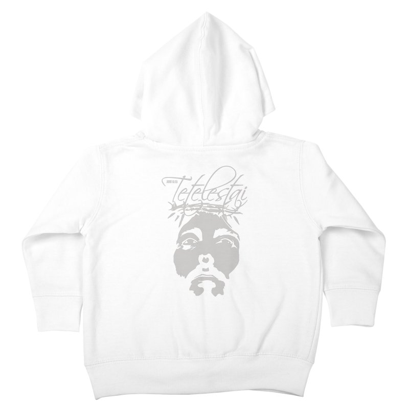 Tetelestai Kids Toddler Zip-Up Hoody by Stand Forgiven ✝ Bible-inspired designer brand