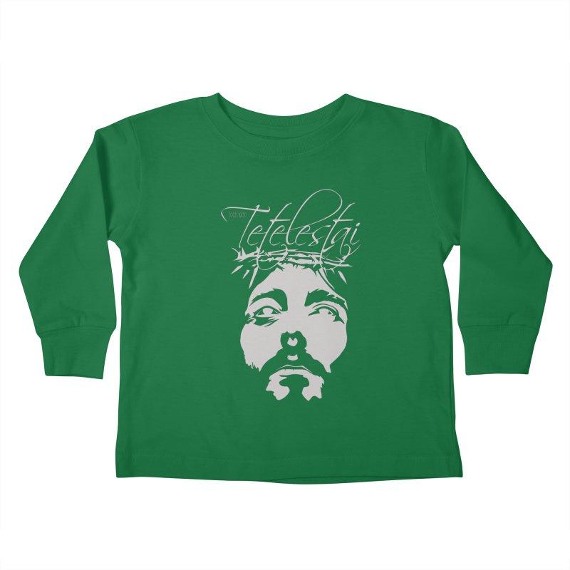 Tetelestai Kids Toddler Longsleeve T-Shirt by Stand Forgiven ✝ Bible-inspired designer brand