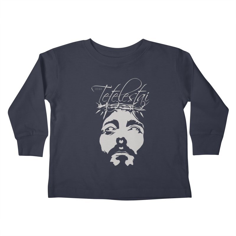 Tetelestai Kids Toddler Longsleeve T-Shirt by Stand Forgiven ✝ Bible-inspired designer brand