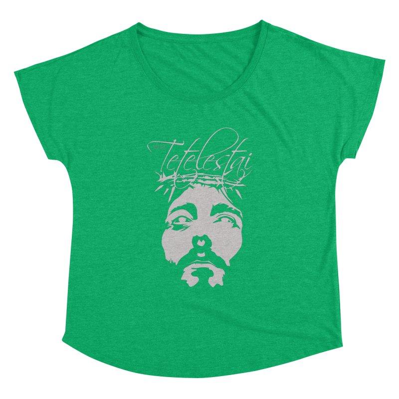 Tetelestai Women's Dolman Scoop Neck by Stand Forgiven ✝ Bible-inspired designer brand