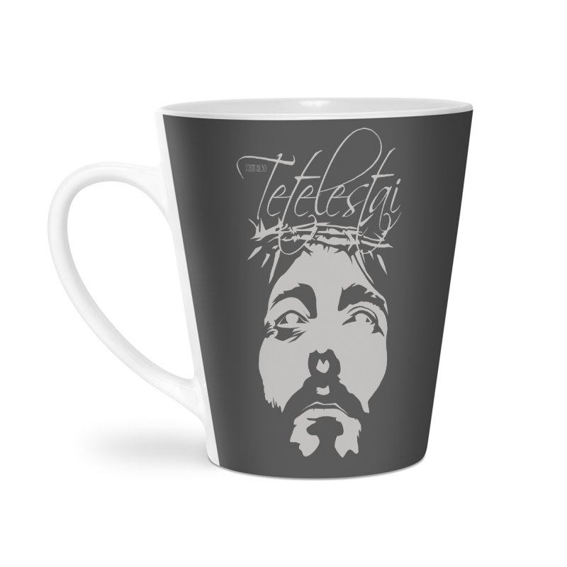 Tetelestai Accessories Latte Mug by Stand Forgiven ✝ Bible-inspired designer brand