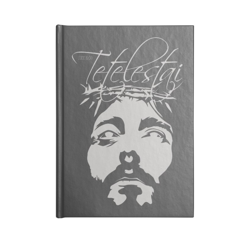 Tetelestai Accessories Lined Journal Notebook by Stand Forgiven ✝ Bible-inspired designer brand