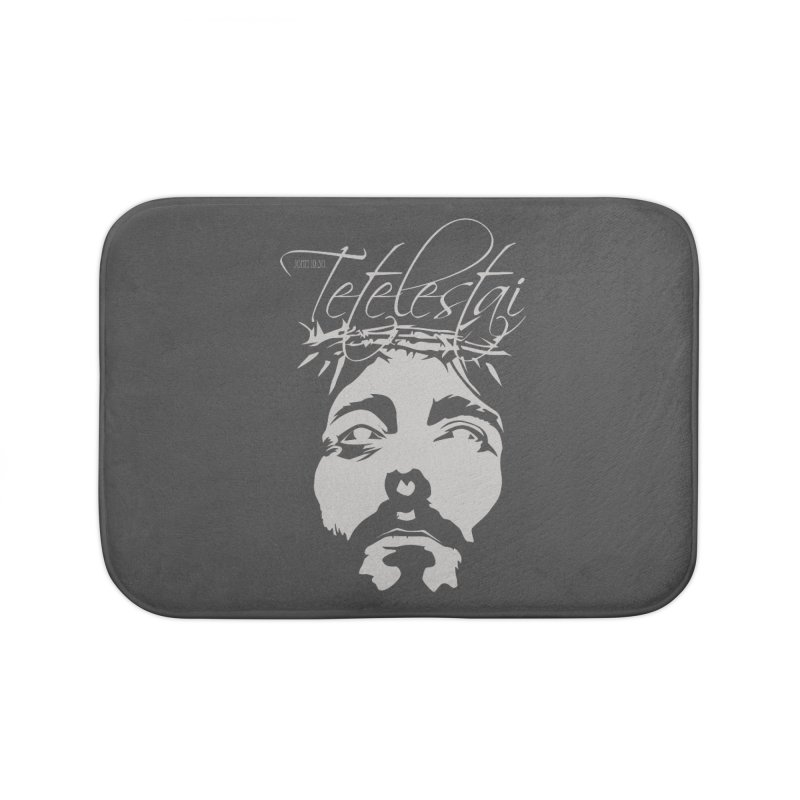 Tetelestai Home Bath Mat by Stand Forgiven ✝ Bible-inspired designer brand