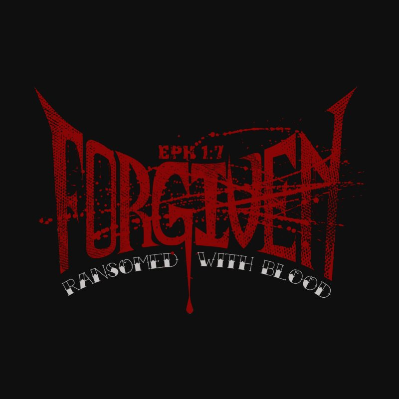 Forgiven: Ransomed with Blood Home Fine Art Print by Stand Forgiven ✝ Bible-inspired designer brand