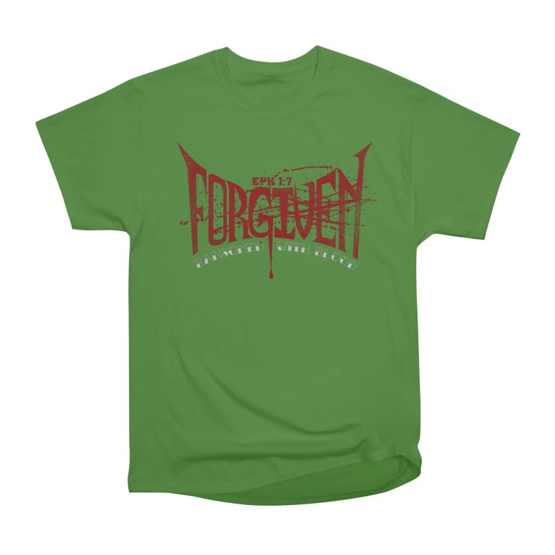 Forgiven: Ransomed with Blood Men's Classic T-Shirt by Stand Forgiven ✝ Bible-inspired designer brand