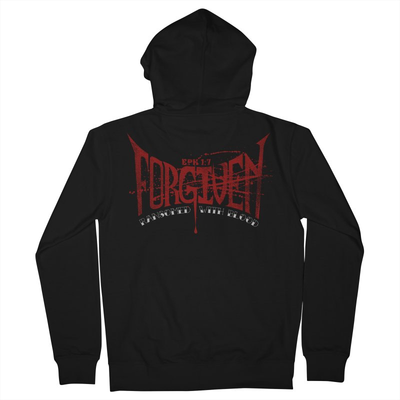 Forgiven: Ransomed with Blood Women's Zip-Up Hoody by Stand Forgiven ✝ Bible-inspired designer brand