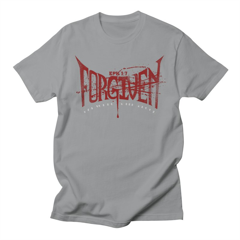 Forgiven: Ransomed with Blood Women's Unisex T-Shirt by Stand Forgiven ✝ Bible-inspired designer brand