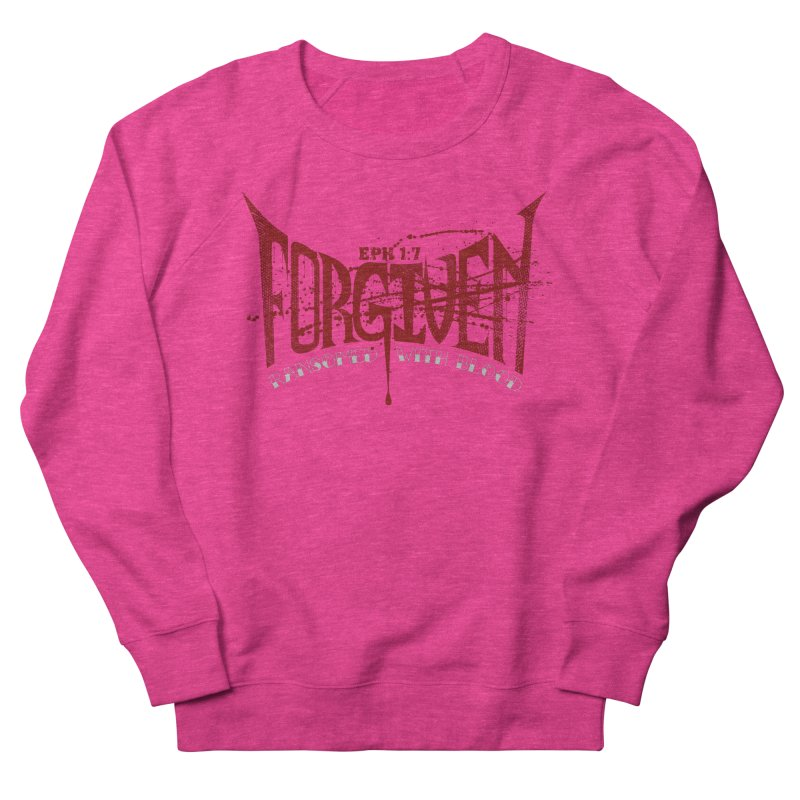 Forgiven: Ransomed with Blood Women's Sweatshirt by Stand Forgiven ✝ Bible-inspired designer brand