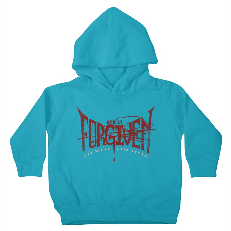 Forgiven: Ransomed with Blood Kids Toddler Pullover Hoody by Stand Forgiven ✝ Bible-inspired designer brand