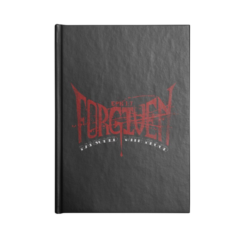 Forgiven: Ransomed with Blood Accessories Blank Journal Notebook by Stand Forgiven ✝ Bible-inspired designer brand