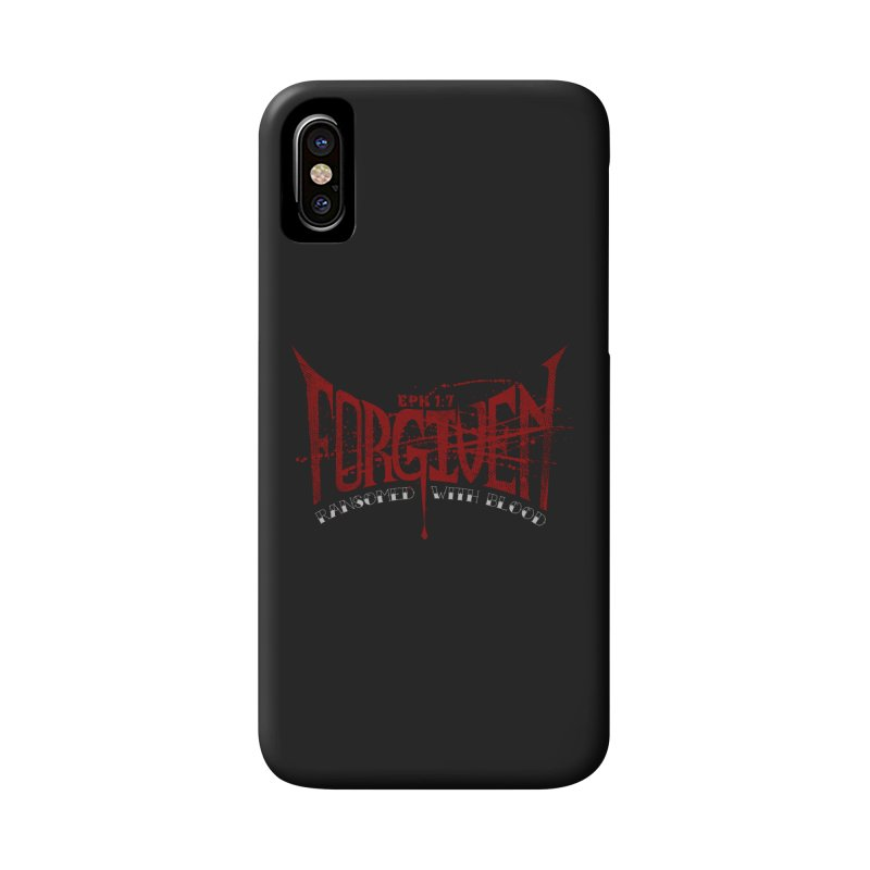 Forgiven: Ransomed with Blood Accessories Phone Case by Stand Forgiven ✝ Bible-inspired designer brand