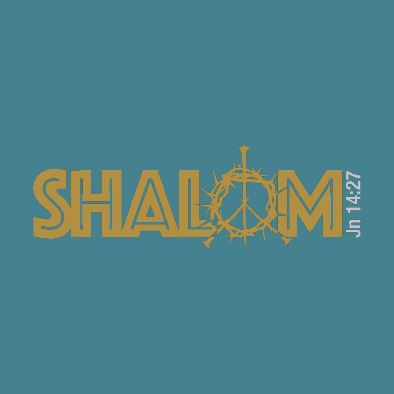 Shalom Women's Scoop Neck by Stand Forgiven ✝ Bible-inspired designer brand