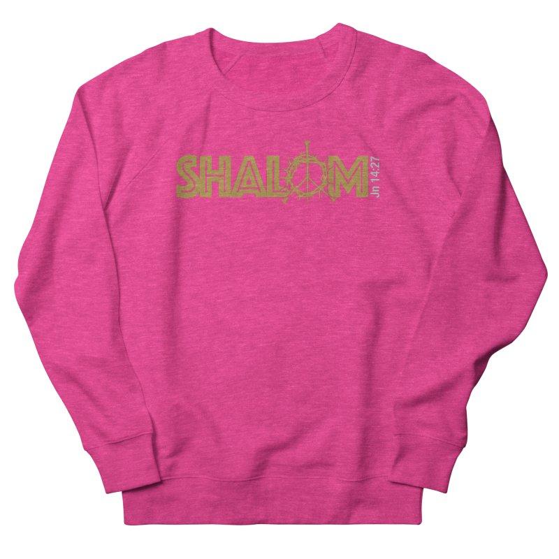 Shalom Men's Sweatshirt by Stand Forgiven ✝ Bible-inspired designer brand