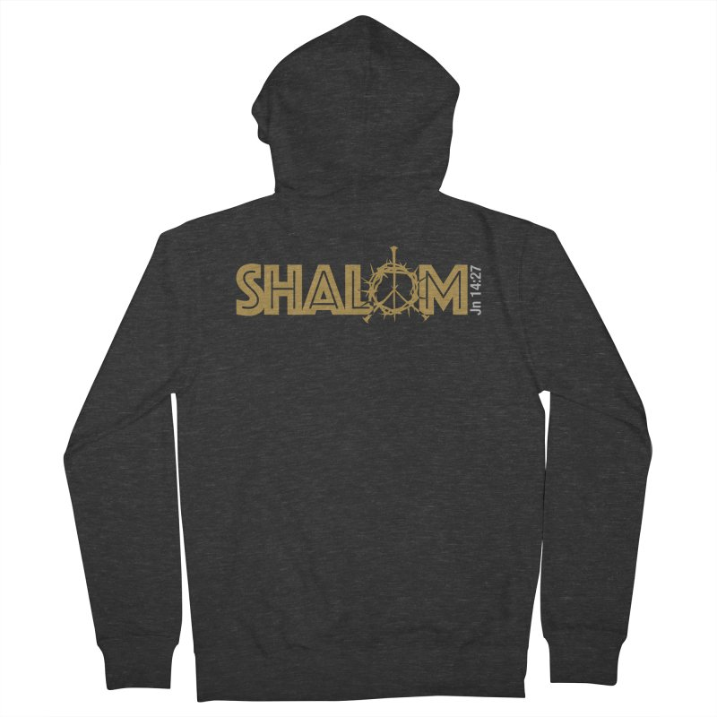 Shalom Women's Zip-Up Hoody by Stand Forgiven ✝ Bible-inspired designer brand