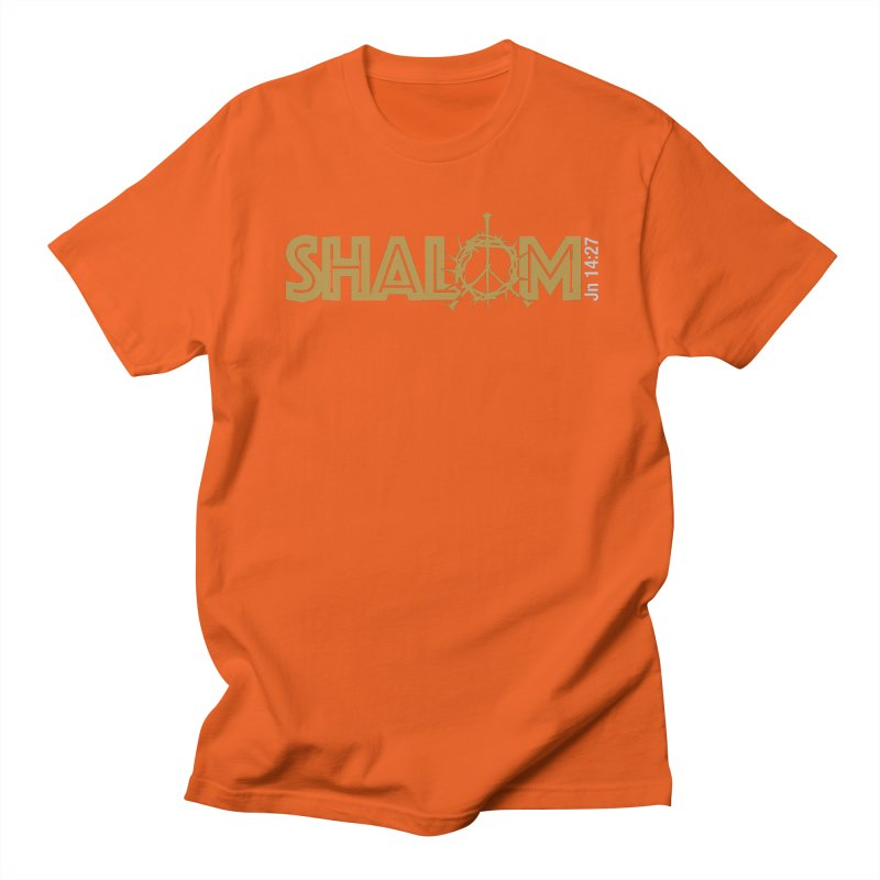 Shalom Women's Unisex T-Shirt by Stand Forgiven ✝ Bible-inspired designer brand