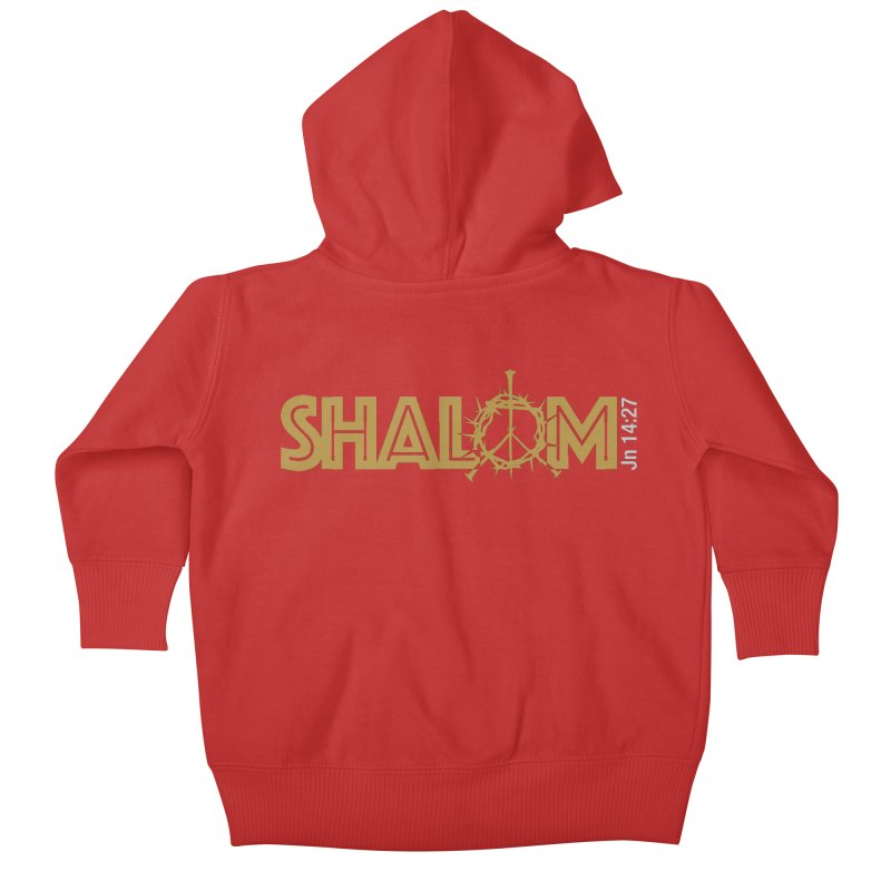 Shalom Kids Baby Zip-Up Hoody by Stand Forgiven ✝ Bible-inspired designer brand