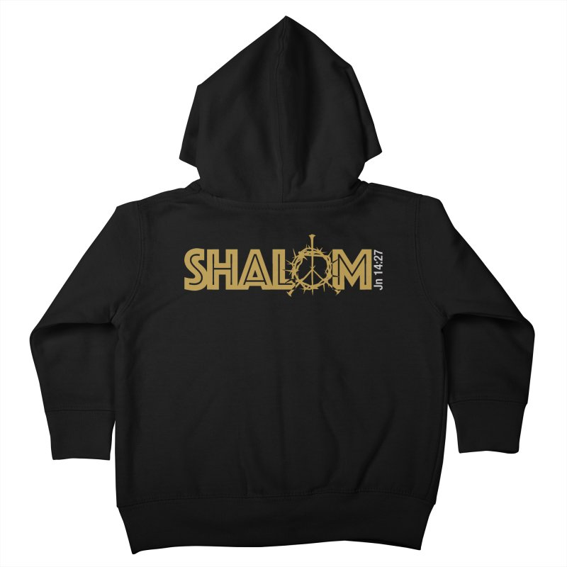 Shalom Kids Toddler Zip-Up Hoody by Stand Forgiven ✝ Bible-inspired designer brand