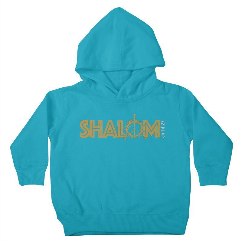 Shalom Kids Toddler Pullover Hoody by Stand Forgiven ✝ Bible-inspired designer brand