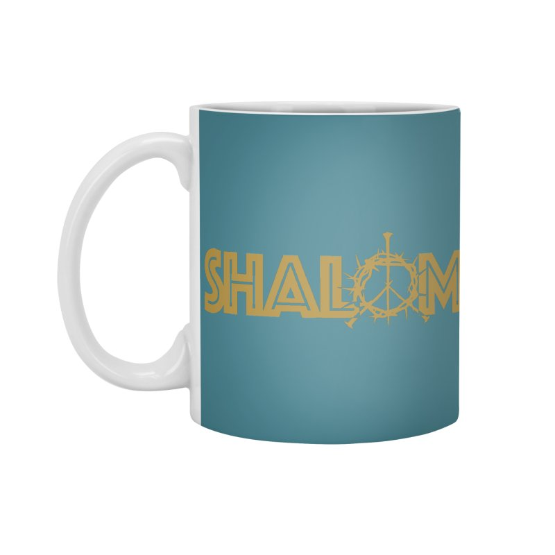 Shalom Accessories Standard Mug by Stand Forgiven ✝ Bible-inspired designer brand