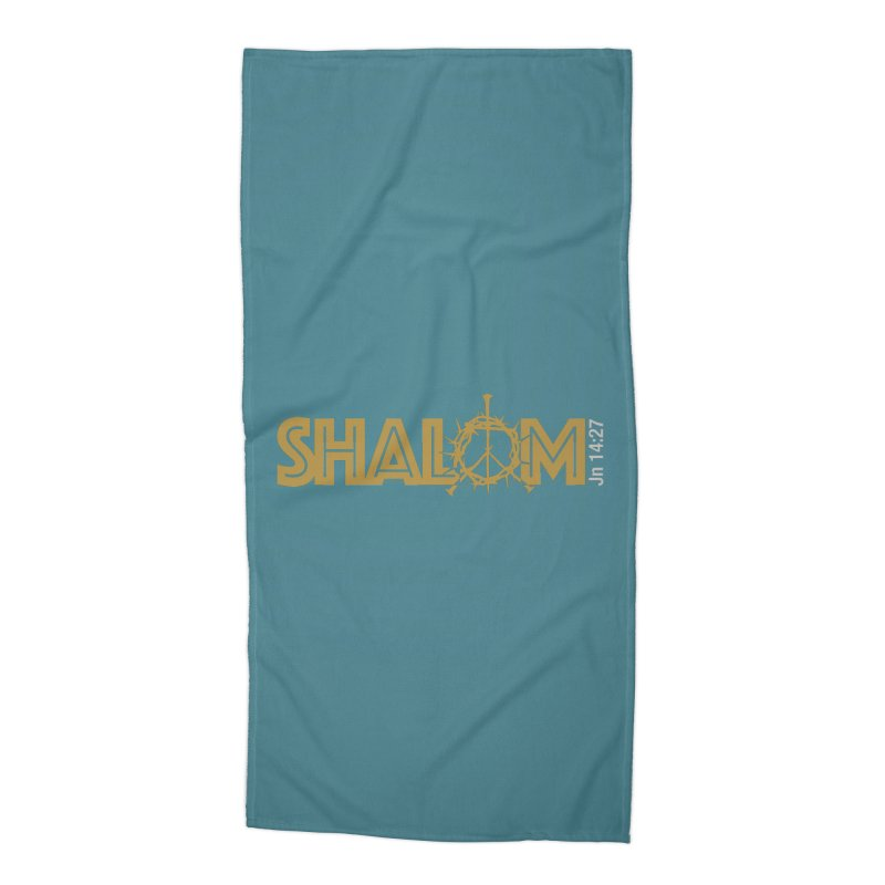 Shalom Accessories Beach Towel by Stand Forgiven ✝ Bible-inspired designer brand