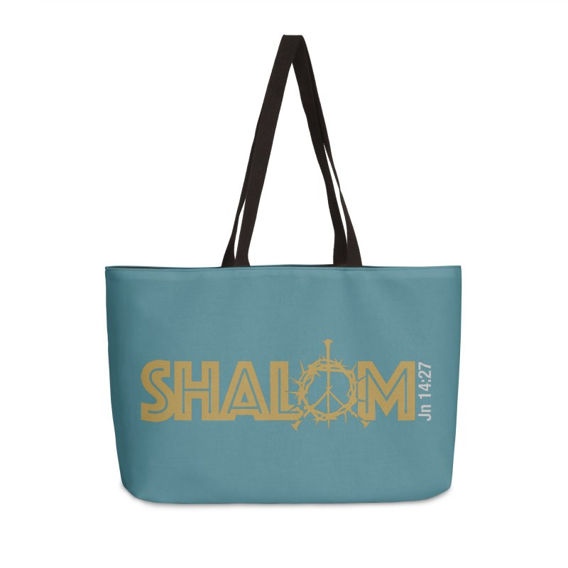 Shalom Accessories Weekender Bag Bag by Stand Forgiven ✝ Bible-inspired designer brand