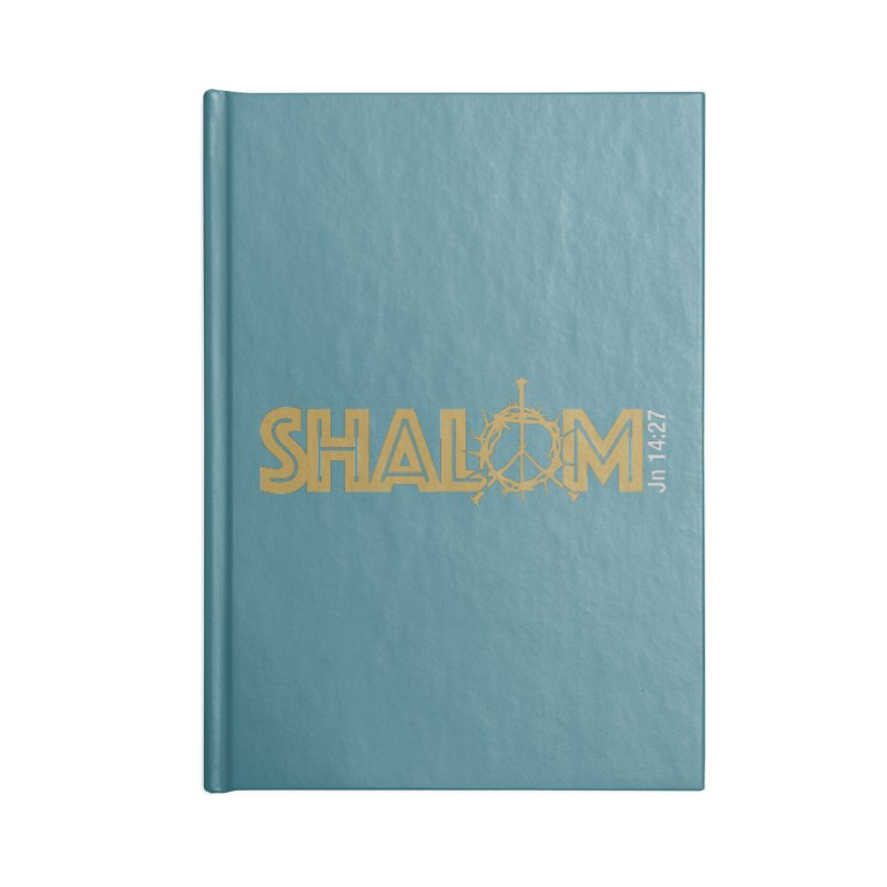 Shalom Accessories Notebook by Stand Forgiven ✝ Bible-inspired designer brand