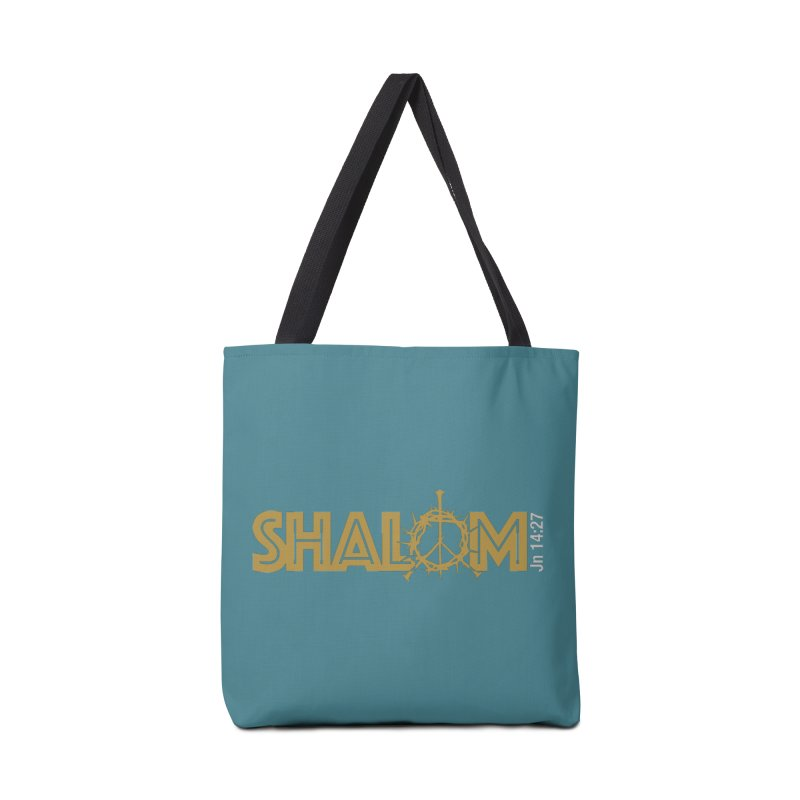 Shalom Accessories Tote Bag Bag by Stand Forgiven ✝ Bible-inspired designer brand