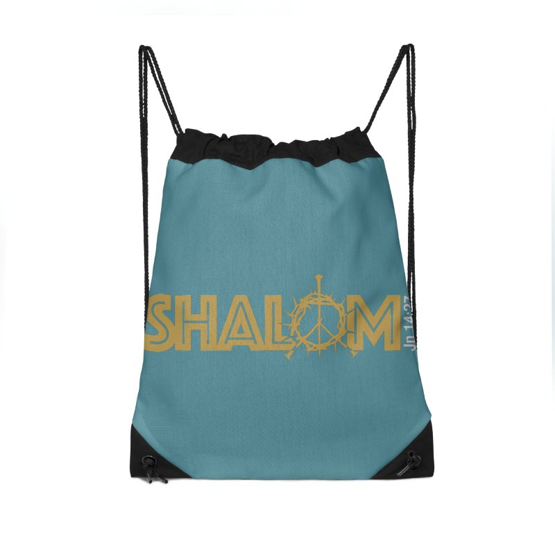 Shalom Accessories Drawstring Bag Bag by Stand Forgiven ✝ Bible-inspired designer brand
