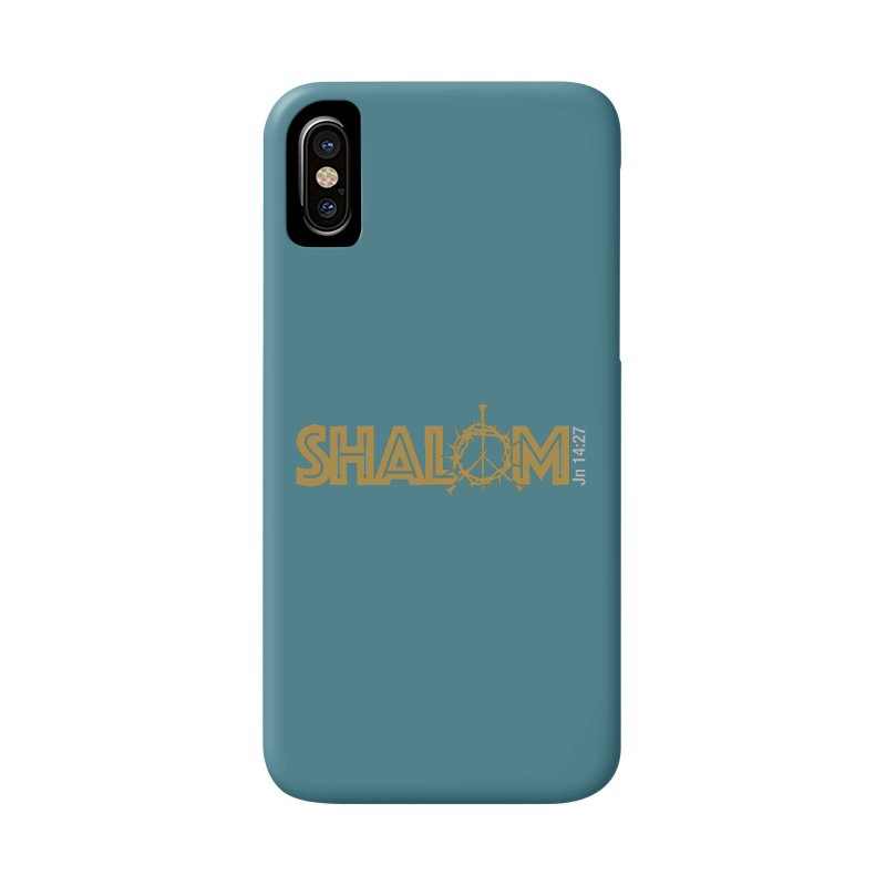 Shalom Accessories Phone Case by Stand Forgiven ✝ Bible-inspired designer brand