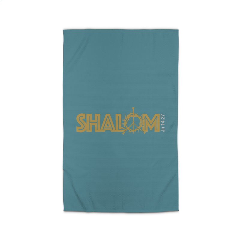 Shalom Home Rug by Stand Forgiven ✝ Bible-inspired designer brand