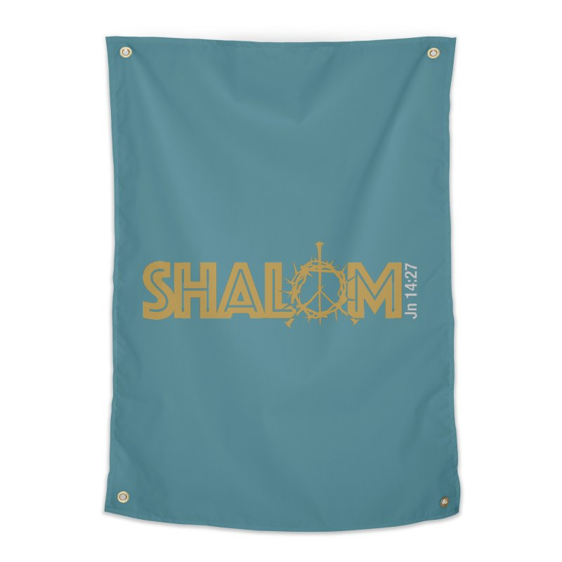 Shalom Home Tapestry by Stand Forgiven ✝ Bible-inspired designer brand