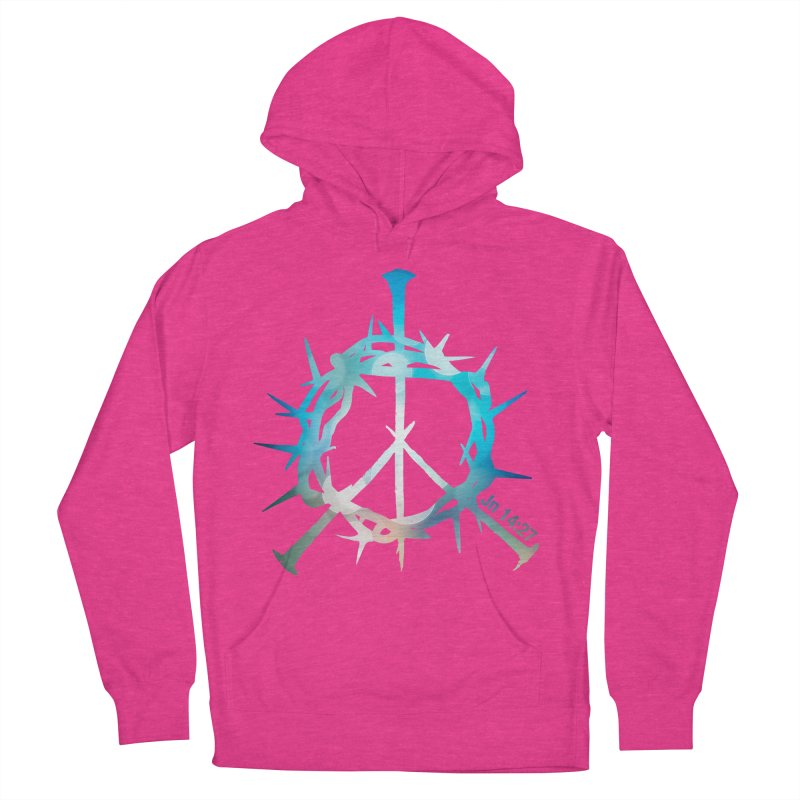 Peace be with You Women's Pullover Hoody by Stand Forgiven ✝ Bible-inspired designer brand