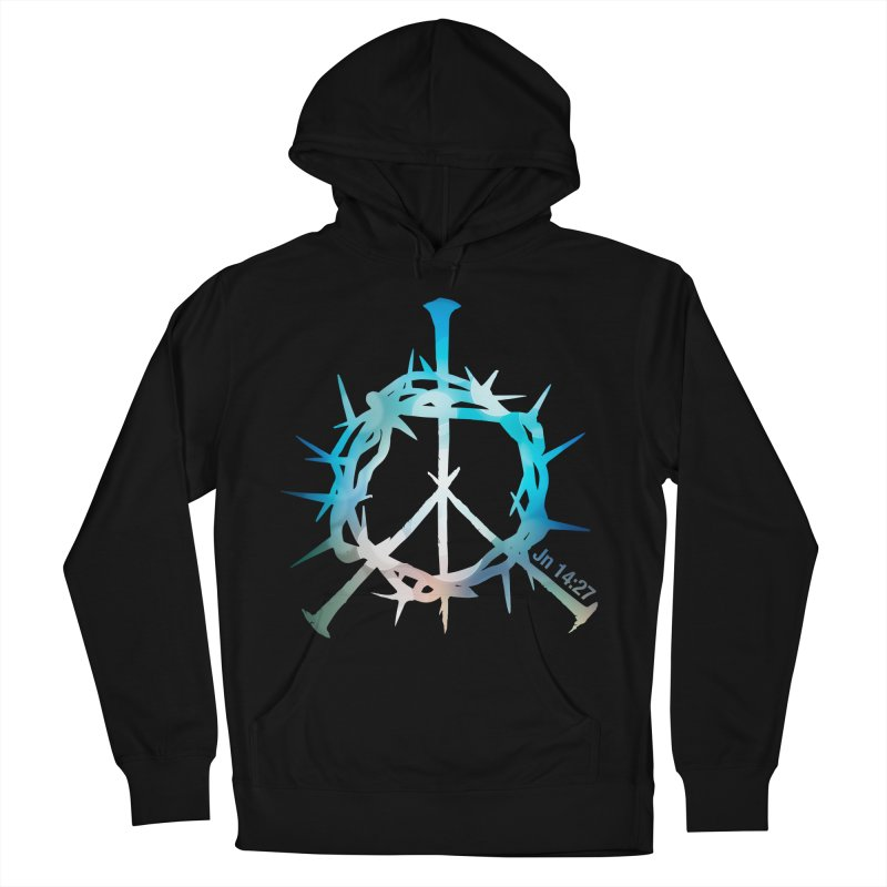 Peace be with You Men's Pullover Hoody by Stand Forgiven ✝ Bible-inspired designer brand