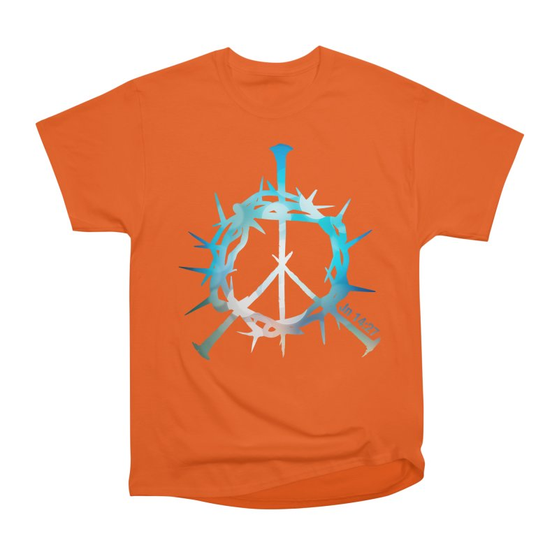 Peace be with You Men's Classic T-Shirt by Stand Forgiven ✝ Bible-inspired designer brand