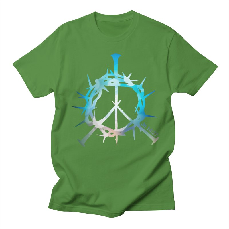 Peace be with You Men's T-Shirt by Stand Forgiven ✝ Bible-inspired designer brand