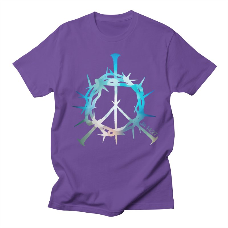 Peace be with You Women's Regular Unisex T-Shirt by Stand Forgiven ✝ Bible-inspired designer brand