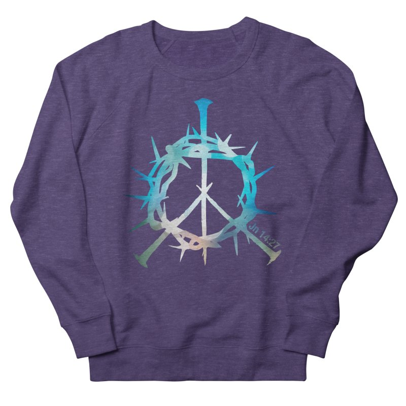 Peace be with You Men's Sweatshirt by Stand Forgiven ✝ Bible-inspired designer brand