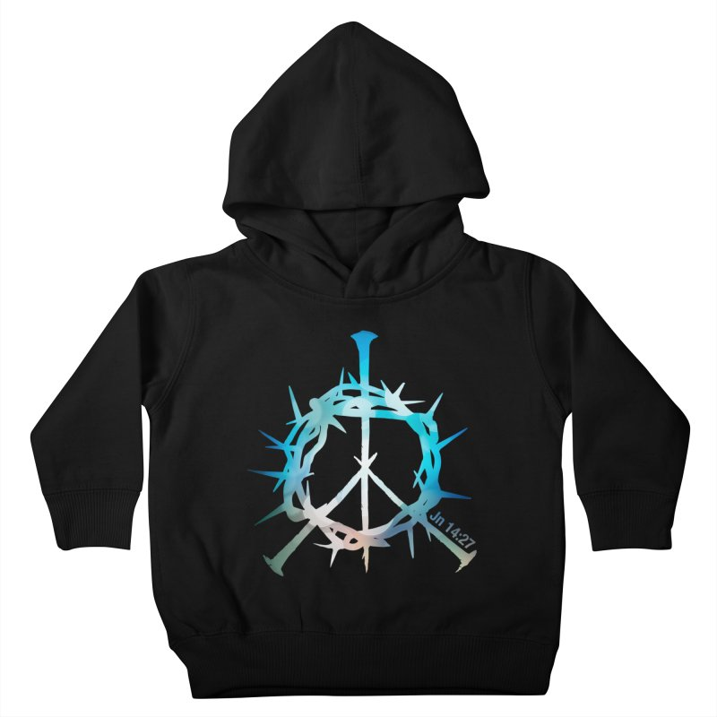 Peace be with You Kids Toddler Pullover Hoody by Stand Forgiven ✝ Bible-inspired designer brand