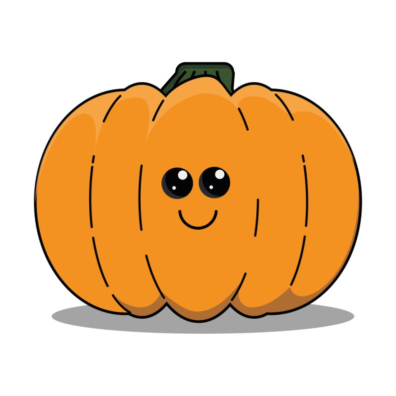 Halloween Happy Cute Pumpkin Fine Art Print Stanleyjames S Artist Shop