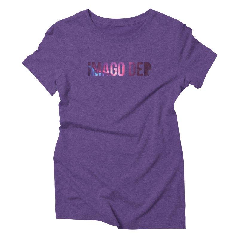 Imago Dei in Women's Triblend T-Shirt Tri-Purple by XXXIII Apparel