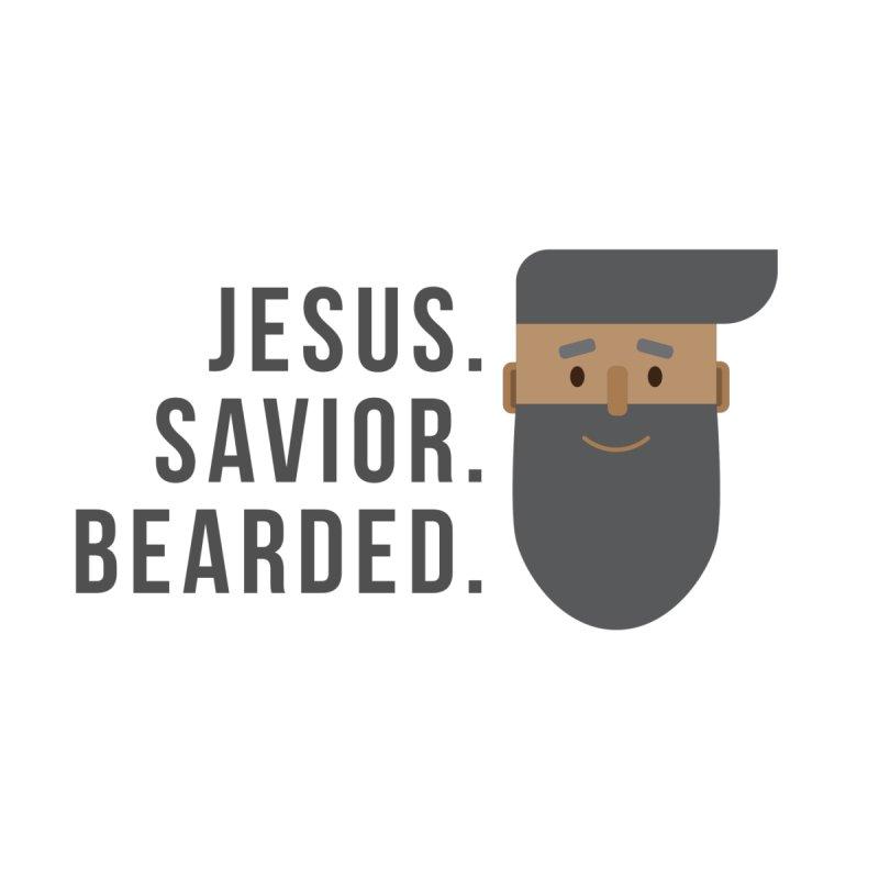 Jesus. Savior. Bearded. by Rodda Designs
