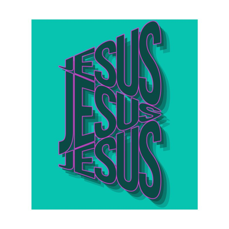 Jesus! by Rodda Designs